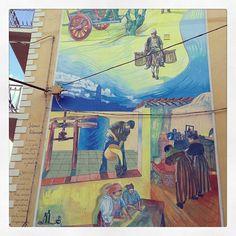 Mural in Ilbono #Ogliastra #Sardinia  (by @maestrale69)