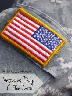 Veterans Day Coffee Date #sharefolgers #veteransday AD