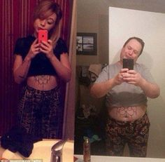 From the clothes and the tattoos to the duck pout, this father had his daughter's selfie n...