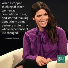 America Ferrera Says Her Life Changed After She Stopped Seeing Women As Competition