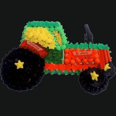 BERLINGUM ® - Tracteur - GATEAU ET COMPOSITION DE BONBONS