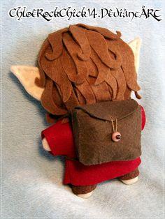 Bilbo Baggins plushie - Back by ChloeRockChick14 on deviantART