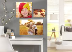 Herbstliche Wandbilder. Einfach und schnell online gestalten unter: http://www.onlinefotoservice.de/poster-und-wandbilder.html #Wandbilder