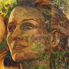 This is my favorite Bev Doolittle-The Earth is my Mother
