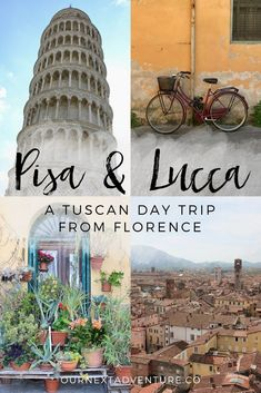 Pisa & Lucca: experience the touristy and the local while combining these two Tuscan cities into one Florence day trip. // Italy Travel | Tuscany | Italy by Train | Cinque Terre Day Trip | Leaning Tower | How to See | Italian Daytrip Itinerary | Europe Trip | Best Cities