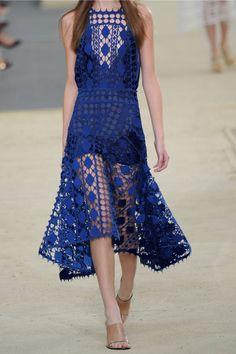 Chloé Crocheted lace midi dress NET-A-PORTER.COM