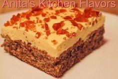 Prajitura Galbena - Culinar.ro Romanian Desserts, Romanian Food, Romanian Recipes, Sweet Recipes, Cake Recipes, Dessert Recipes, Hungarian Cake, Bread Cake, Pastry Cake