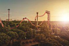 Diversión en familia en el Parque de Atracciones de Madrid