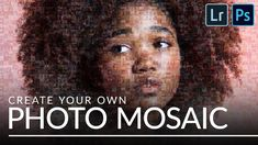 How to Create a Photo Mosaic in Lightroom & Photoshop - YouTube