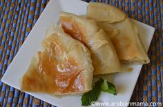 Egyptian Feteer meshaltet - sort of an Egyptian croissant pastry Middle Eastern Dishes, Middle Eastern Recipes, New Recipes, Cooking Recipes, Favorite Recipes, Pastry Recipes, Egyptian Food, Egyptian Recipes, Arabic Recipes