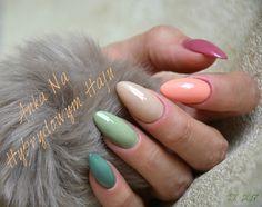 #paznokcie #manicure #hybrydy  #pazurki  #AnkaNaHybrydowymHaju #Nails #jesień #jesienne #autumn #autumnnails #jesiennepaznokcie #jesienneinspiracje #nude #nudziaki #zieleń #zgniłazieleń Manicure, Nails, Beauty, Nail Bar, Finger Nails, Ongles, Nail Polish, Nail, Manicures