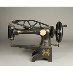 ANTIQUE SINGER SEWING MACHINES - Sewing machines and accessories,  #leather…