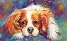 Oil painting pet portraits, how to paint dogs
