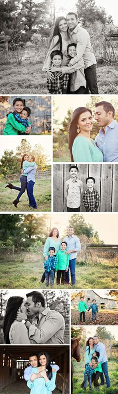 Such pretty photos, love this family session! The horse picture at the end makes it that much cuter!!! (Jennifer Lawrence Photography)