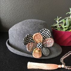 "Anthropologie wool fedora by Christy's Reposhing because it's too big. Measures 23"". So adorable! Sold thru Anthro. Christy & Co Ltd has been manufacturing fine hats in England since 1773 through eight generations of the Christy family and across nine reigns of British royals starting with King George III. Christys is the only company in the world still making high quality top hats and bowlers in the traditional way, using hatting skills established over 200 years ago and keeping a valuable…"