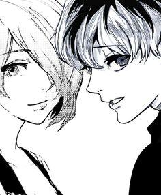 Haise y Touka