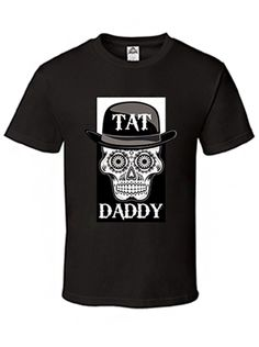 "Men's ""Logo"" Tee by Tat Daddy (Black) #InkedShop #Mens #logo #tatdaddy #tee #menswear"
