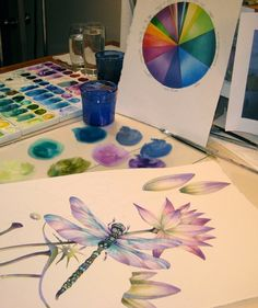 Dragonflies…How to Paint Them and What They Signify! A New Art Class By Jody Bergsma | Jody Bergsmas Blog