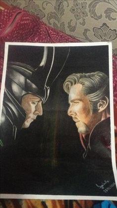 Loki e Dr. Estranho!!!!