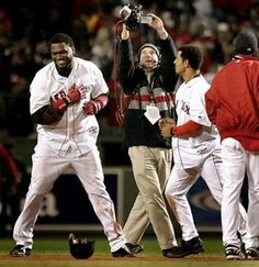 2004 -David Ortiz provides another walk-off hit as Red Sox take ALCS to New York