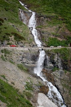 Going to the Sun Road, Glacier National Park, Montana. This is a must-drive on a trip to Glacier National Park.