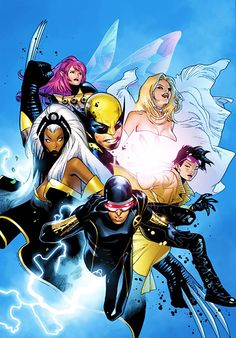 infinity-comics: X-Men variant by Olivier Coipel Comic Book Artists, Comic Book Characters, Marvel Characters, Comic Artist, Comic Character, Comic Books Art, Marvel Comics Art, Fun Comics, Marvel Dc Comics