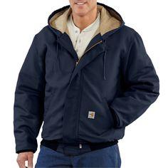 Carhartt Mens Flame Resistant Midweight Duck Active Jacket Carhartt Sportswear Mens FRJ184