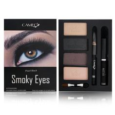 Cameo Smoky Eyes Pearl Black ** Special  product just for you. See it now! : Makeup Sets