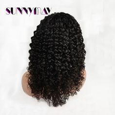 111.35$  Watch now - http://alilgs.worldwells.pw/go.php?t=1561622815 - Top Quality Water Wave Human Hair Wig Full Lace Wigs Virgin Indian Hair Dream Lace Wigs Full Lace Wig With Baby Hair
