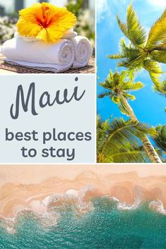 Where to stay in Maui: West Maui vs South Maui | CosmopoliClan What's the best place to stay in Maui: the West, with Kaanapali and Kapalua, or the South with Wailea and Kihei? Find out which area is right for you! | Maui | Maui hotels | Maui resorts | Hawaii #maui #kaanapali #wailea #kapalua #kihei #hawaii