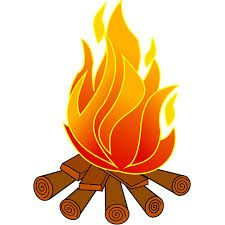 Image result for campfire pictures drawing