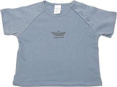 Camiseta Ralgan Manga Corta Boat Azul