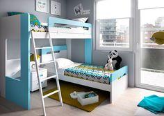 Habitación Infantil con Literas modelo DUAL