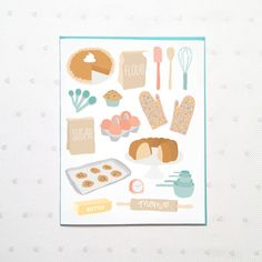 Mother's Day Bakery card