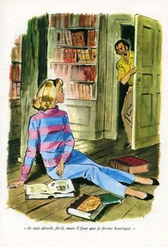 Nancy Drew illustration by Albert Chazelle Vintage Books, Vintage Ads, Vintage Images, David Downton, Detective, Josie And The Pussycats, Nancy Drew Books, Nancy Drew Mysteries, Betty And Veronica