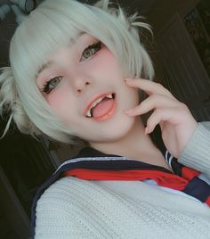 Cosplay Manga Himiko Toga (From My Hero Academia) By Miku Kawaii Cosplay, Cosplay Anime, Uraraka Cosplay, Cute Cosplay, Amazing Cosplay, Cosplay Outfits, Best Cosplay, Cosplay Style, Performance Kunst