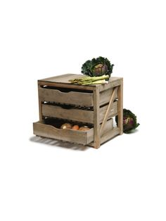 Three Drawer Vegetable Rack Get Organised Kitchen Dining Home
