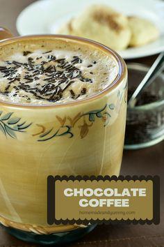 Love the combination of coffee and chocoalte? This chocolate coffee recipe is super easy to make. Can you guess what the secret ingredient is?? #homeamdelatte #coffeandchocolate #mochalatte #chocolatemilk Drink Recipes Nonalcoholic, Yummy Drinks, Chocolate Hazelnut, Chocolate Coffee, Butterbeer Latte, Matcha Green Tea Latte, Mocha Coffee, Christmas Appetizers, Pumpkin Spice Latte
