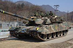 South Korean K1 MBT