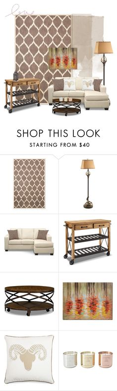 into the fall we go by valuecityfurn on Polyvore featuring interior, interiors, interior design, home, home decor, interior decorating, Tom Dixon, Fremont and rustic