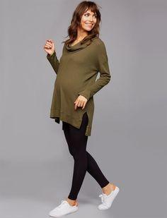 Under Belly Rayon Maternity Leggings, black maternity leggings #maternityfashion #maternitystyle #affiliate
