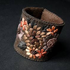 bukiet w brązach (proj. agat.handmade), do kupienia w DecoBazaar.com