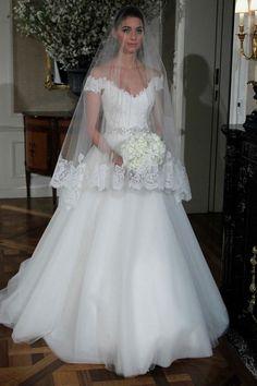 Editor's Pick: Romona Keveza Wedding Dresses. To see more: http://www.modwedding.com/2014/03/24/editors-pick-romona-keveza-wedding-dresses/ #wedding #weddings #fashion