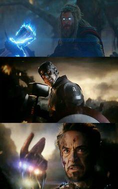 Thor, Captain America et Iron Man Marvel Dc Comics, Marvel Heroes, Marvel Avengers, Marvel Characters, Marvel Movies, Thor, Marvel Wallpaper, Living At Home, Marvel Cinematic Universe