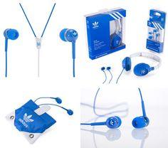 Adidas Originals x Sennheiser Headphones - coolest! Sennheiser Headphones, Cheap Headphones, Headphones For Sale, Wireless Noise Cancelling Headphones, Best Headphones, Sport Earbuds, Jeremy Scott, Adidas Originals, Gadgets