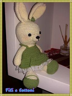Coniglietta amigurumi