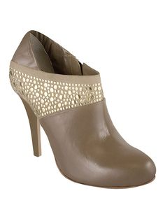 Take a look at the A.B.S. by Allen Schwartz Taupe Trickie Bootie on #zulily today!
