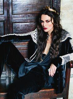 Keira Knightley by Ellen Von Unwerth for Harper's Bazaar UK    fashion royalty