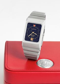 Too chunky for my taste but gotta love the stardust dial :D Omega Constellation Marine Stardust Ref. 196.0013