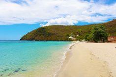Breath taking beach in Martinique